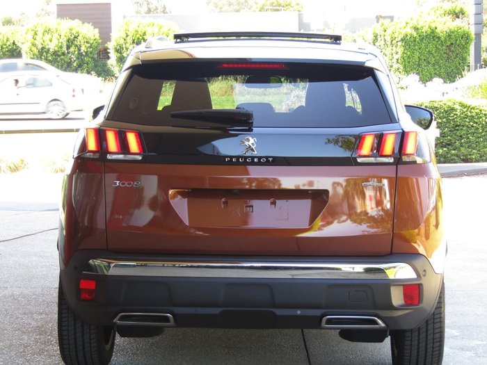 2020 Peugeot 3008 GT Line P84 MY20 Brown