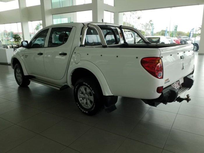 2011 Mitsubishi Triton GLX MN MY11 White