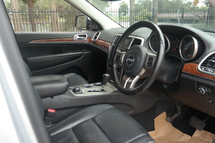 2011 Jeep Grand Cherokee Limited 70th Anniversary WK MY11 4X4 Constant Silver