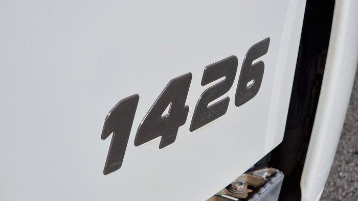 2016 HINO FE AUTO STREET SWEEPER WHITE