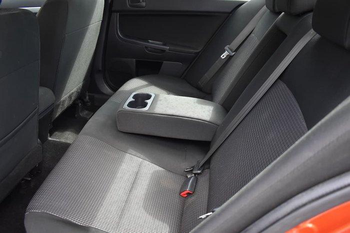 2011 Mitsubishi Lancer ES CJ MY11 Red