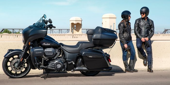 2021 Indian 2021 INDIAN 1900CC ROADMASTER DARK HORSE BLACK SMOKE TOURER Black