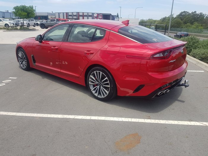 2018 Kia Stinger 330S CK MY18 Red