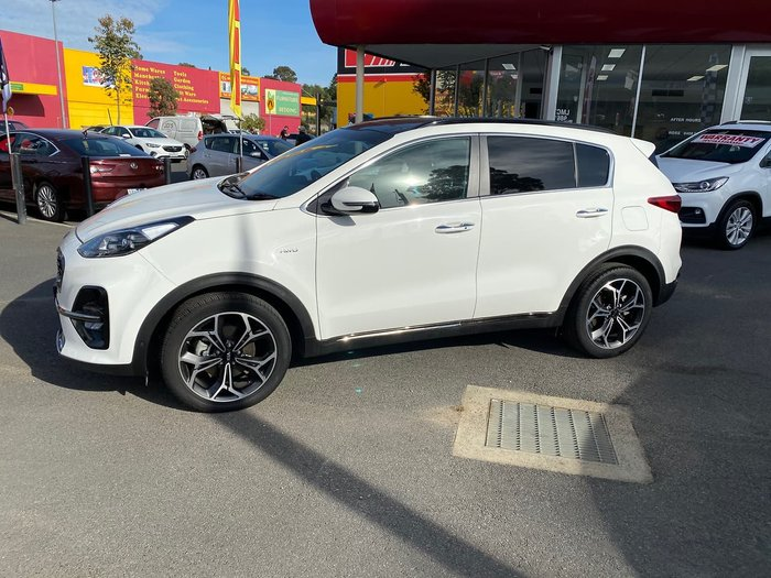 2019 Kia Sportage GT-Line QL MY19 4X4 On Demand White