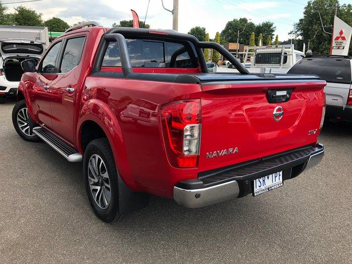 2017 Nissan Navara ST-X D23 Series 3 4X4 Dual Range Red
