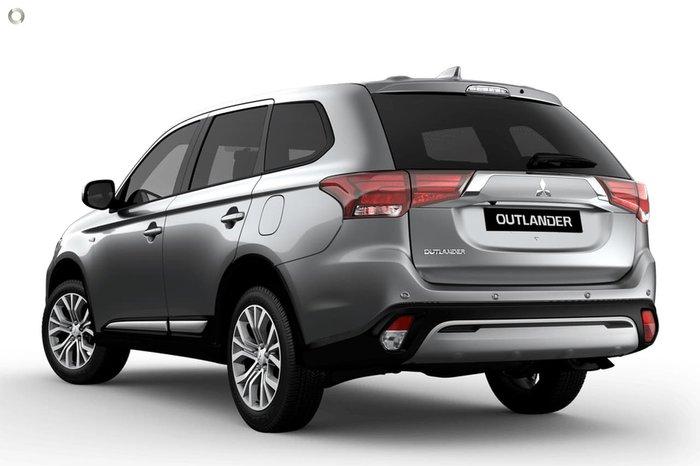 2020 Mitsubishi Outlander ES ZL MY21 Silver