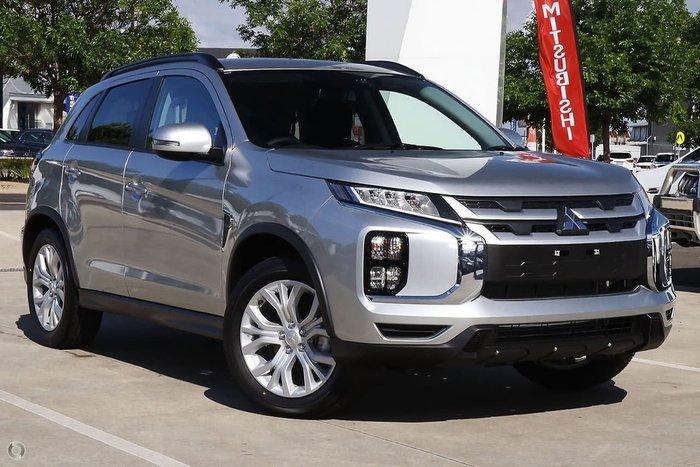 2020 Mitsubishi ASX LS XD MY21 Silver