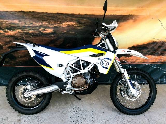 2016 HUSQVARNA 701 ENDURO DUAL PURPOSE WHITE