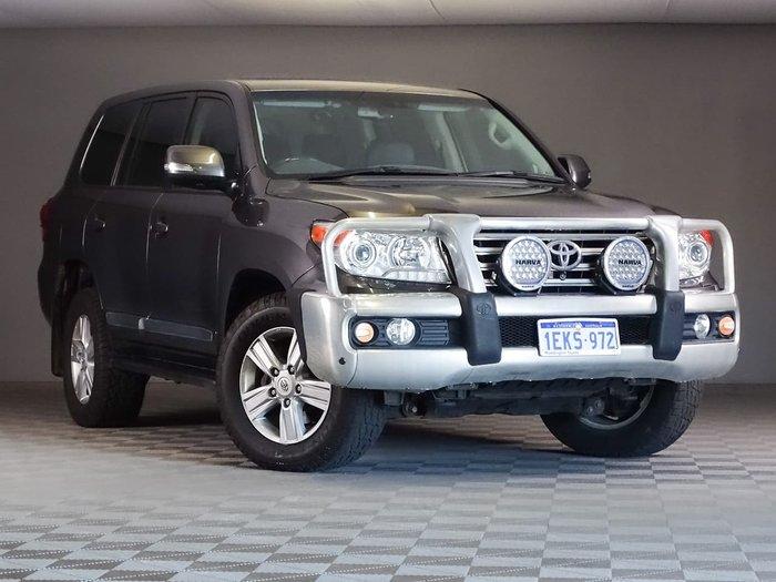 2014 Toyota Landcruiser Sahara VDJ200R MY13 4X4 Dual Range Grey