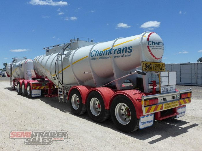 2004 Marshall Lethlean B/D Combination Chemical Tanker B Double Set