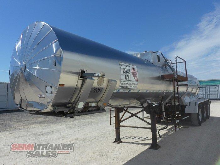 1992 Custom Semi Tanker Trailer