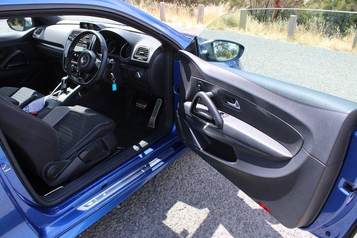 2014 Volkswagen Scirocco R 1S MY15 Blue
