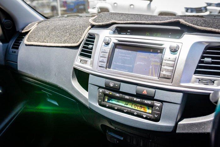 2014 Toyota Hilux Black Limited Edition KUN26R MY14 4X4 Dual Range Silver
