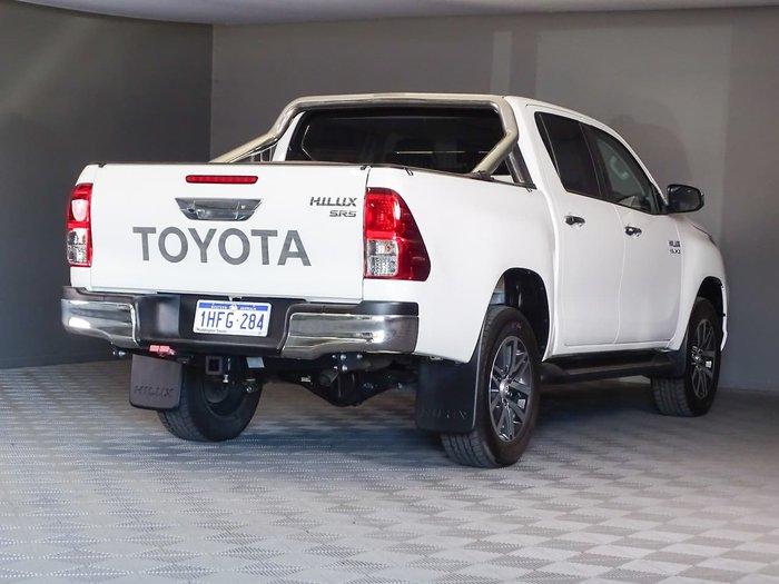 2019 Toyota Hilux SR5 GUN126R 4X4 Dual Range White
