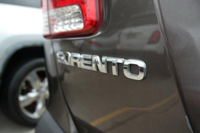 2012 Kia Sorento SLi XM MY12 Four Wheel Drive Silver