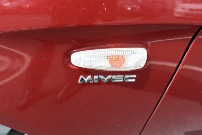 2012 Mitsubishi Lancer ES CJ MY12 Red