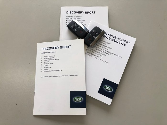 2015 Land Rover Discovery Sport SD4 HSE L550 MY16 4X4 Constant Scotia Grey