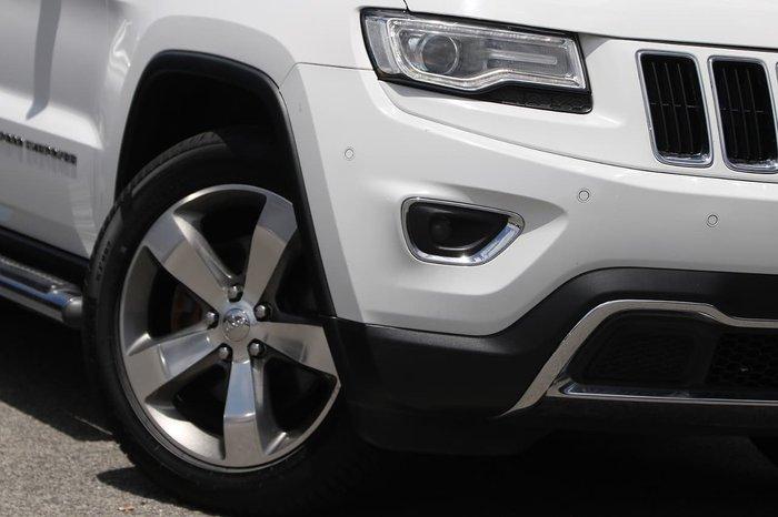 2014 Jeep Grand Cherokee Limited WK MY14 4X4 Dual Range White