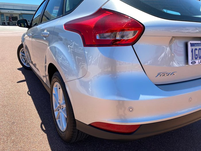 2018 Ford Focus Trend SA MY19 Silver