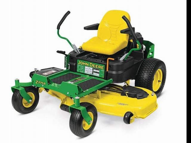 2020 John Deere Mowers Z375R Mower Green