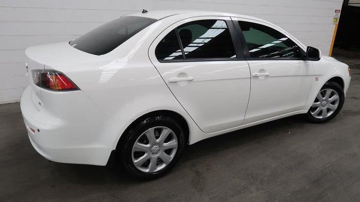 2012 Mitsubishi Lancer ES CJ MY12 White