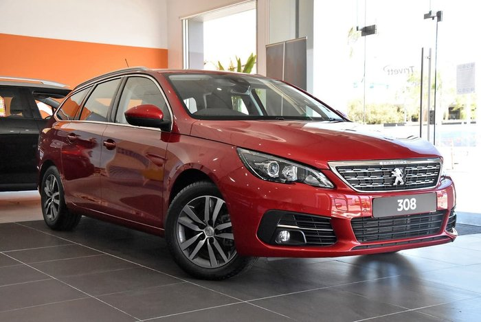 2020 Peugeot 308 Allure T9 MY20 Red