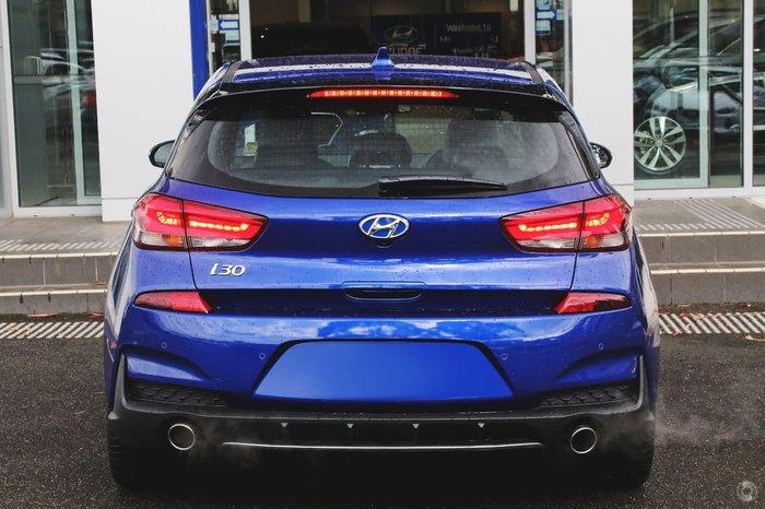 2020 Hyundai i30 N Line PD.V4 MY21 Intense Blue