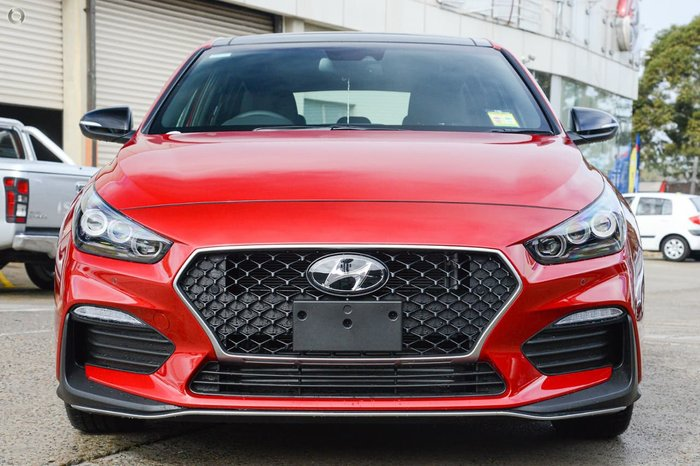 2020 Hyundai i30 N Line Premium PD.V4 MY21 Fiery Red