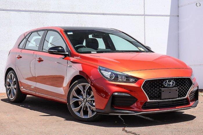 2020 Hyundai i30 N Line PD.V4 MY21 Lava Orange