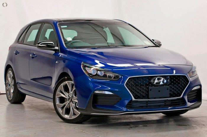 2020 Hyundai i30 N Line Premium PD.V4 MY21 Intense Blue