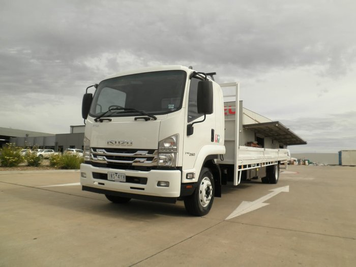 2018 ISUZU 2018 ISUZU FSR 140/260 DROP SIDE TRAY WHITE