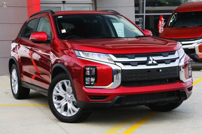 2020 Mitsubishi ASX LS XD MY21 Red