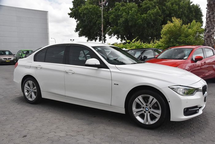 2015 BMW 3 Series 316i Sport Line F30 White