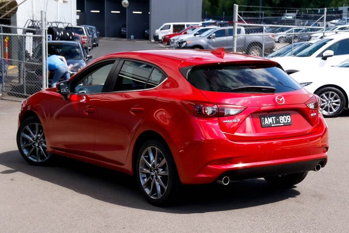 2016 Mazda 3 SP25 Astina BM Series Soul Red