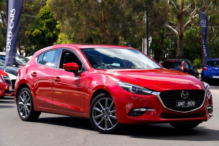 2016 Mazda 3 SP25 Astina BN Series Soul Red
