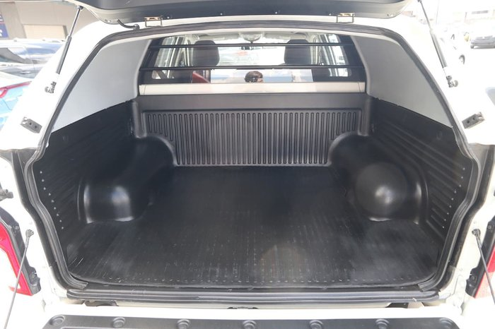 2014 SsangYong Actyon Sports Tradie Q150 MY14 White