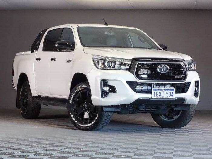2019 Toyota Hilux Rogue GUN126R 4X4 Dual Range White