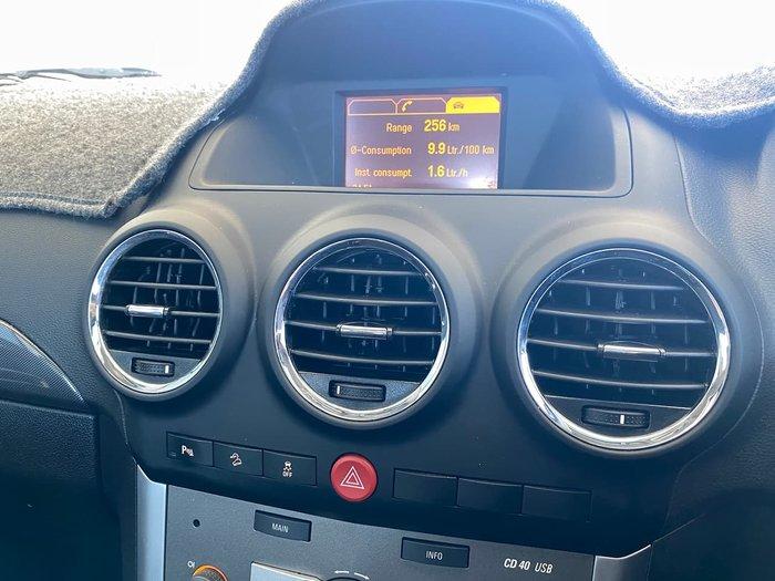 2014 Holden Captiva 5 LT CG MY14 Maroon