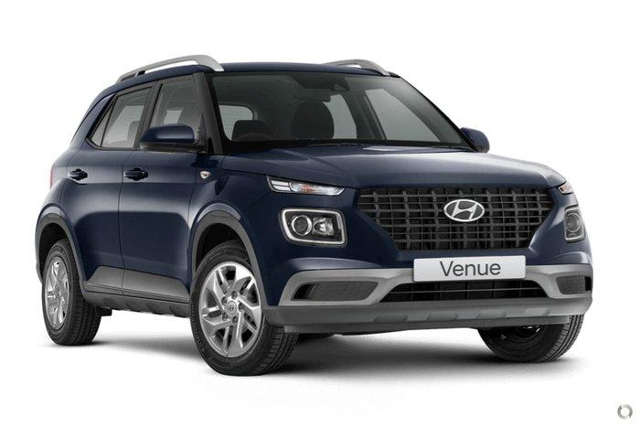 2020 Hyundai Venue QX.V3 MY21 Blue