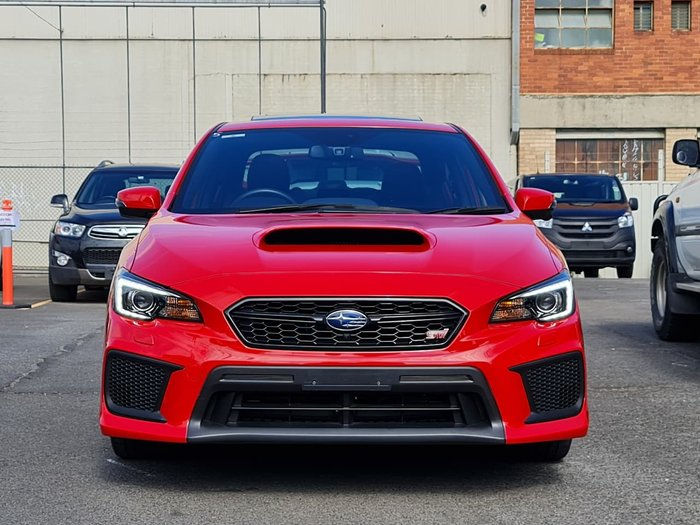 2019 Subaru WRX STI Premium V1 MY19 Four Wheel Drive Red