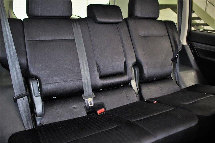 2014 Mitsubishi Pajero GLX NX MY15 4X4 Dual Range White