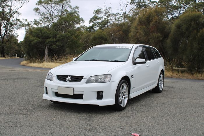 2010 Holden Commodore SV6 VE MY10 White