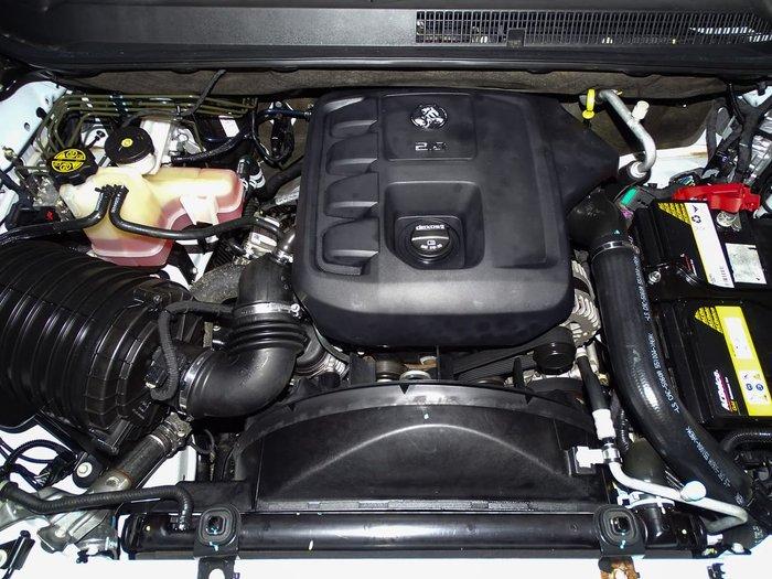 2016 Holden Colorado LTZ RG MY16 4X4 Dual Range White