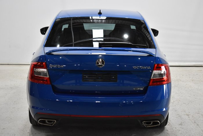 2015 SKODA Octavia RS 162TSI NE MY16 Race Blue