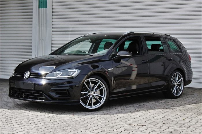 2017 Volkswagen Golf R Wolfsburg Edition 7.5 MY18 Four Wheel Drive Black