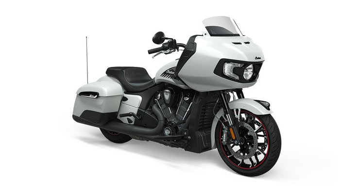 2020 Indian CHALLENGER DARK HORSE WHITE
