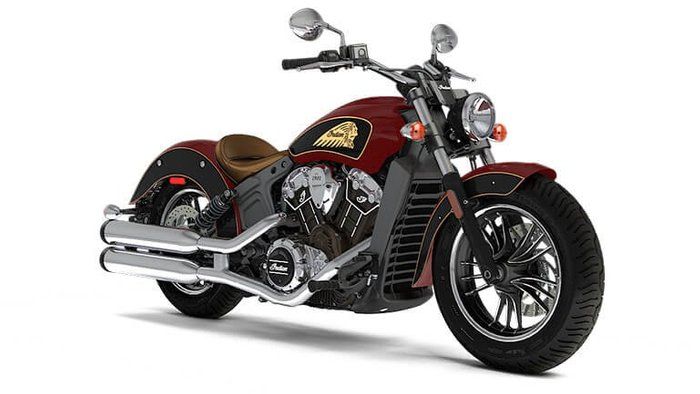 2020 Indian SCOUT INDIAN RED THUNDER BLK