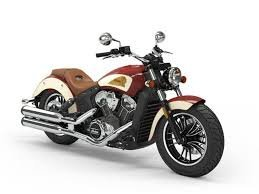 2020 Indian SCOUT INDIAN RED/IVORY CREAM