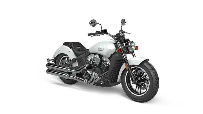 2020 Indian SCOUT WHITE SMOKE
