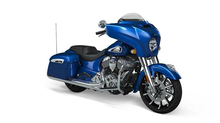 2021 Indian CHIEFTAIN LIMITED RADAR BLUE